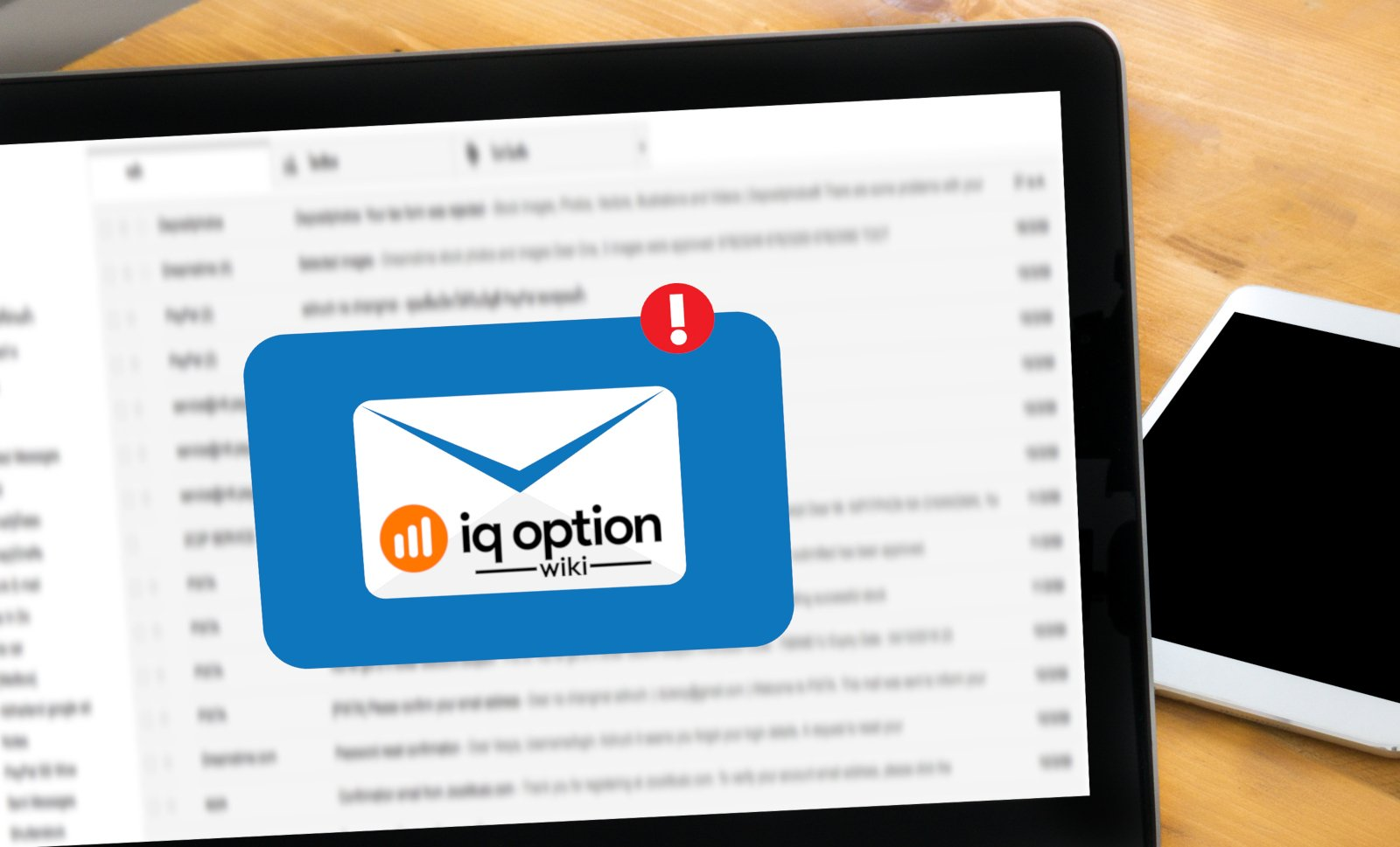 registration mail iq option