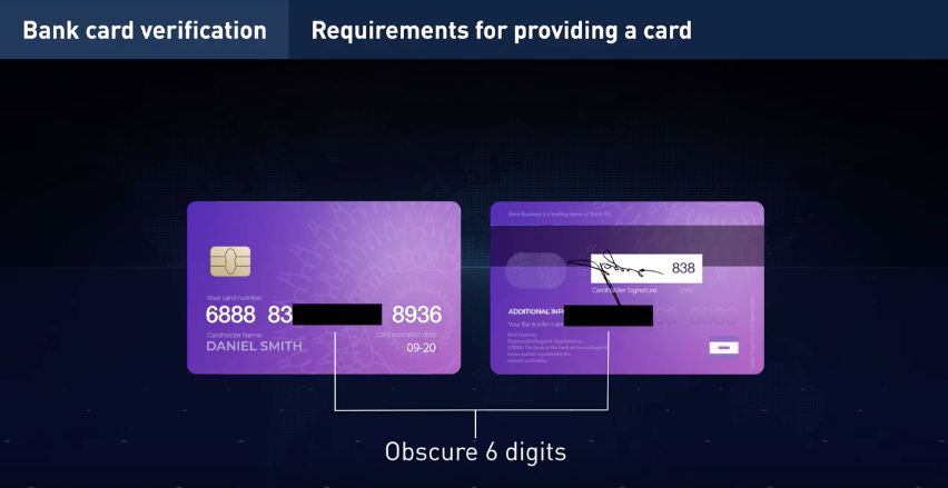 Bank card verification iq option