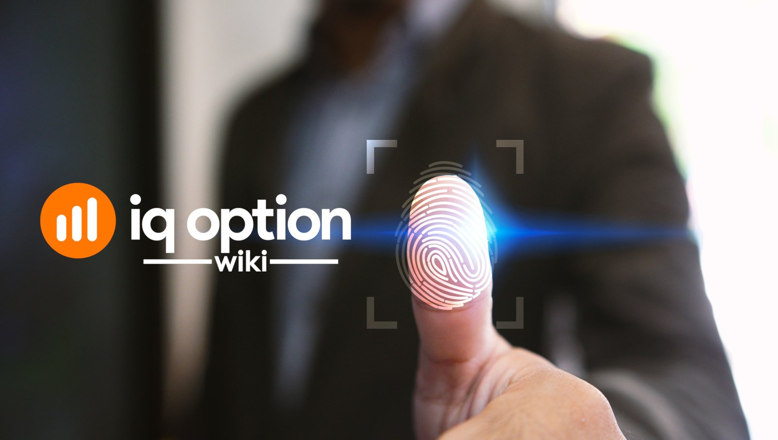 Password recovery at iq option