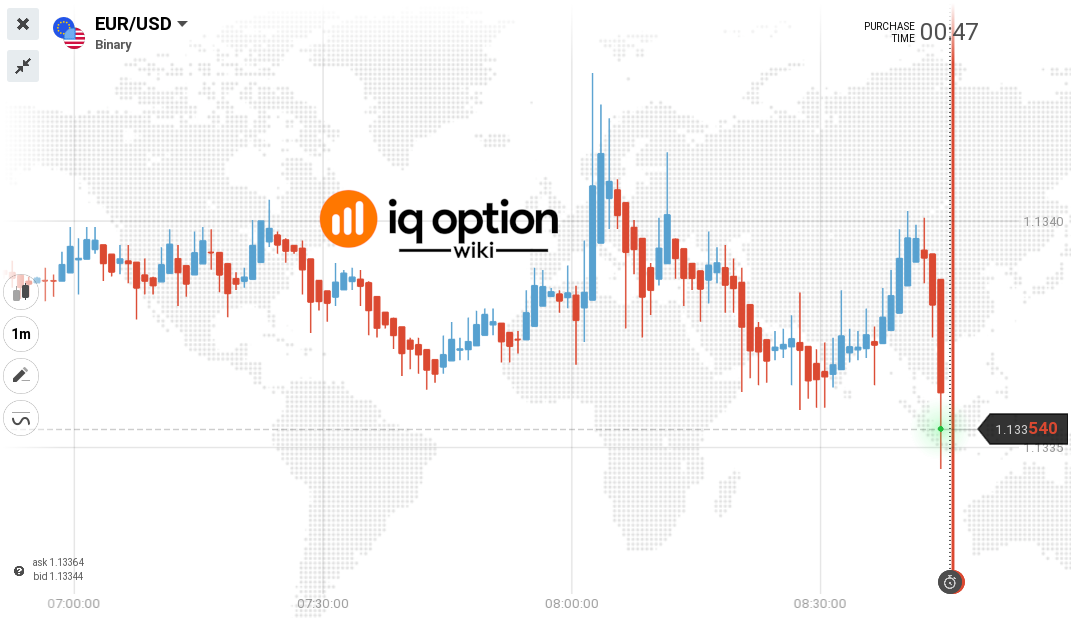 Guide to the IQ Option Price Charts 2