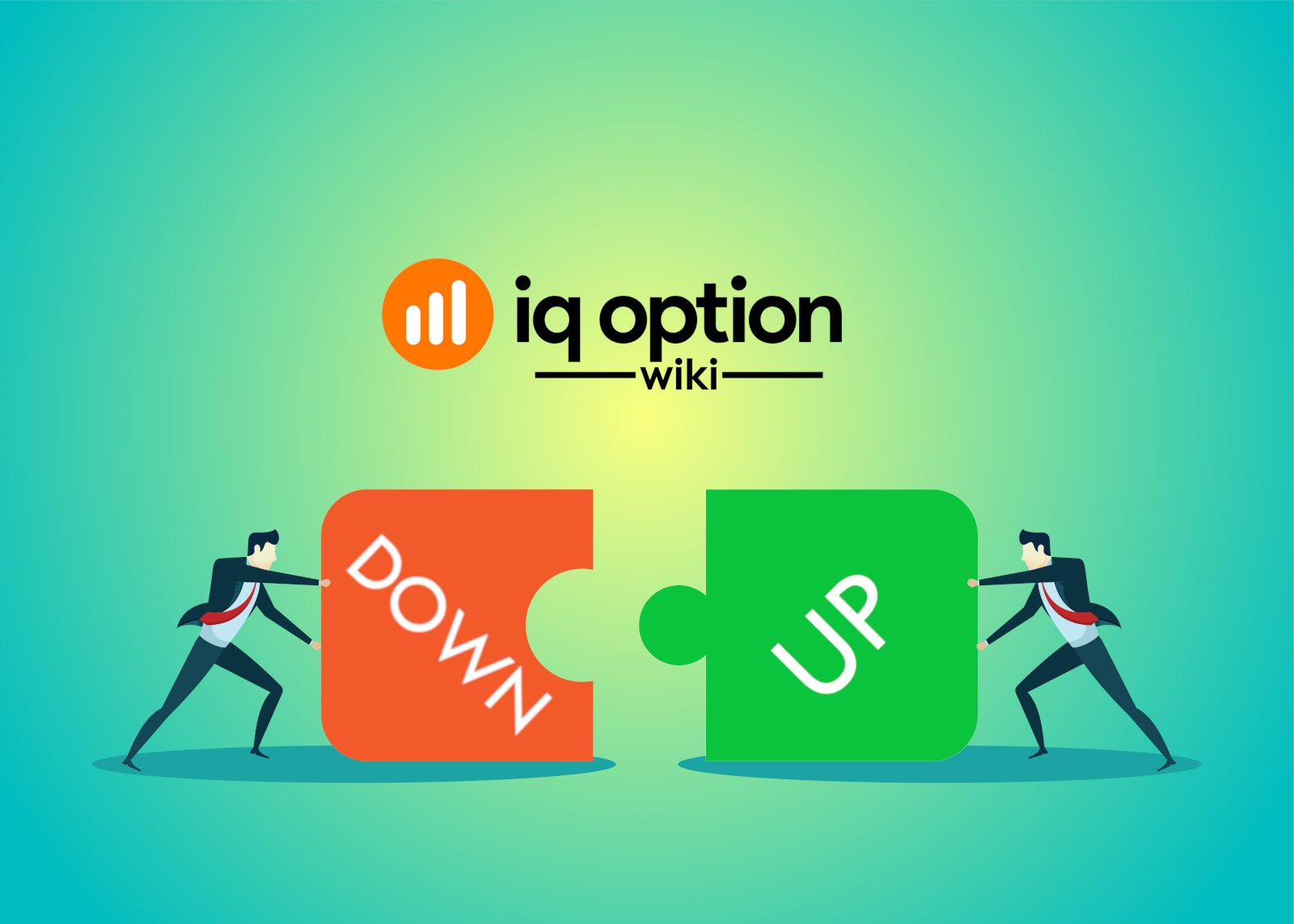 higher - lower options at iq option