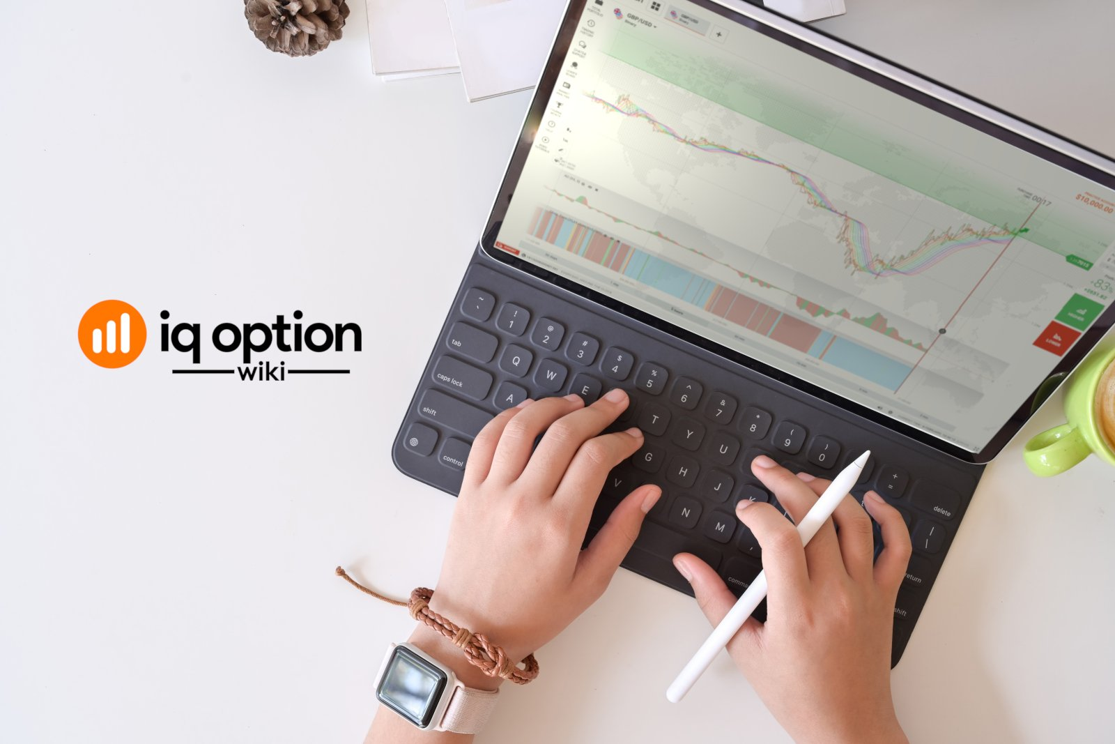 iq option platform on tablet