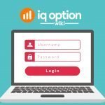 Register account at iq option