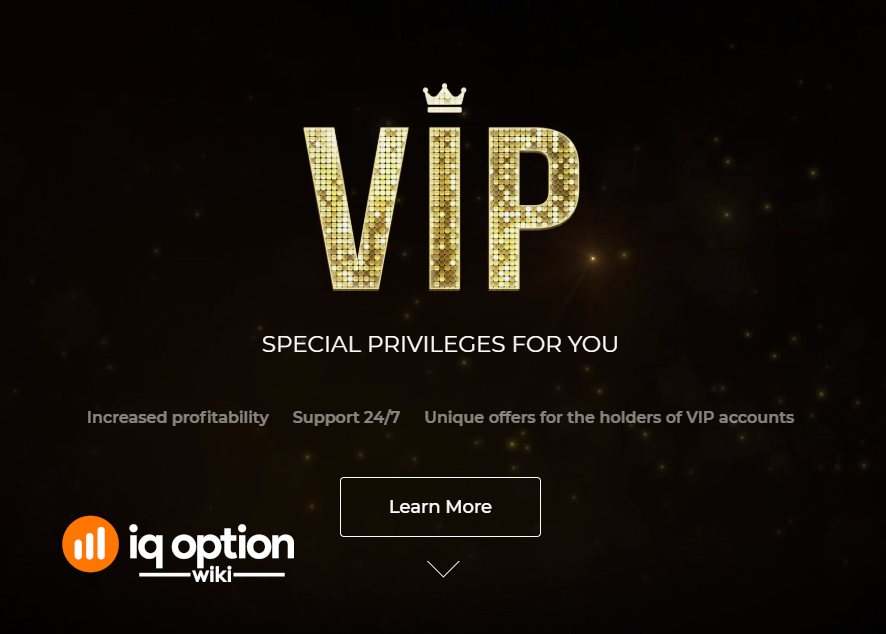 being vip at iq options