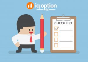 checklist for iq option