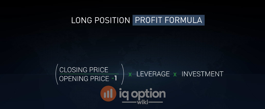 LONG position profit formula