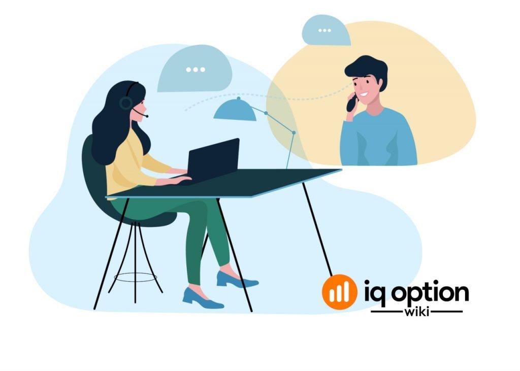 Service Client iq option